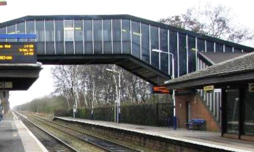 Birchwood Station Footbridge