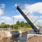 Marsh House Lane Bascule Bridge, Warrington, Open for Business