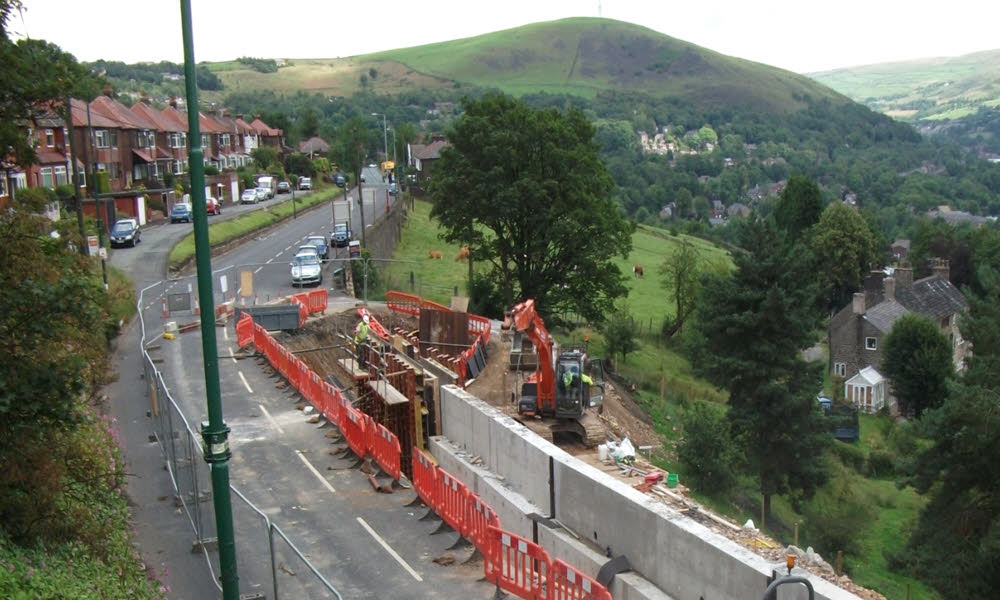 Tameside MBC Retaining Walls